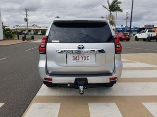 2019 Toyota Landcruiser Prado GDJ150R VX Silver Pearl 6 Speed Sports Automatic Wagon.