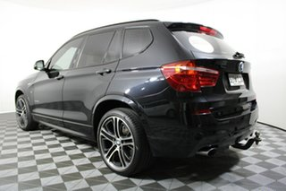 2016 BMW X3 F25 LCI xDrive20d Steptronic Black 8 Speed Automatic Wagon