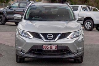 2015 Nissan Qashqai J11 TI Silver 1 Speed Constant Variable Wagon.