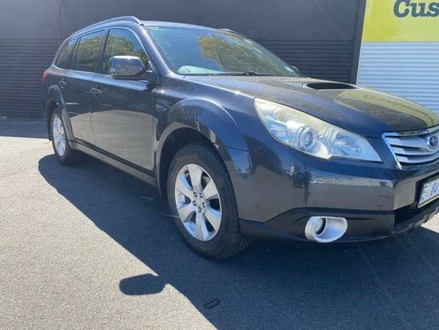 Used Subaru Outback B5A MY12 2.5i AWD Premium Launceston, 2011 Subaru Outback B5A MY12 2.5i AWD Premium Grey 6 Speed Manual Wagon