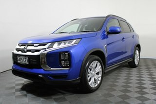2020 Mitsubishi ASX XD MY21 LS 2WD Lightning Blue 1 Speed Constant Variable Wagon.