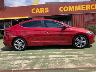 2017 Hyundai Elantra AD MY17 Elite A Shiraz Red 6 Speed Sports Automatic Sedan.