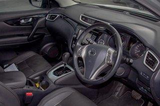 2015 Nissan Qashqai J11 TI Silver 1 Speed Constant Variable Wagon
