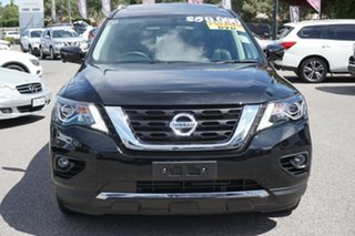 2019 Nissan Pathfinder R52 Series III MY19 Ti X-tronic 4WD Black 1 Speed Constant Variable Wagon.