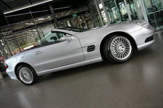 2003 Mercedes-Benz SL-Class R230 MY2003 SL55 AMG Silver 5 Speed Sports Automatic Roadster.
