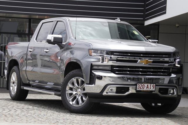 Demo Chevrolet Silverado T1 MY21 Mount Gravatt, 2020 Chevrolet Silverado T1 MY21 G9k 10 Speed Automatic Utility