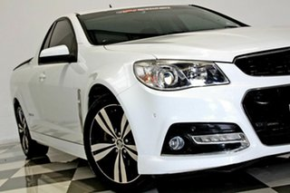 2014 Holden Ute VF SS Storm White 6 Speed Automatic Utility.