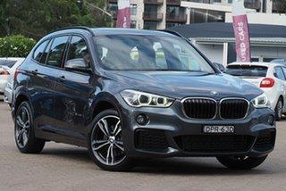 2016 BMW X1 F48 xDrive25i Steptronic AWD Grey 8 Speed Sports Automatic Wagon.