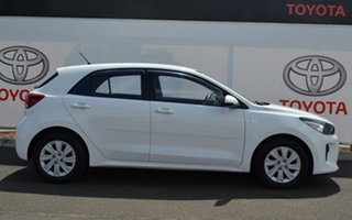 2017 Kia Rio YB MY18 S White 4 Speed Automatic Hatchback