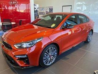 2021 Kia Cerato BD MY21 GT DCT Sunset Orange 7 Speed Sports Automatic Dual Clutch Sedan.