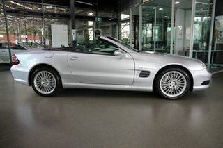 2003 Mercedes-Benz SL-Class R230 MY2003 SL55 AMG Silver 5 Speed Sports Automatic Roadster