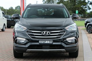 2017 Hyundai Santa Fe DM3 MY17 Active X 2WD Black 6 Speed Sports Automatic SUV