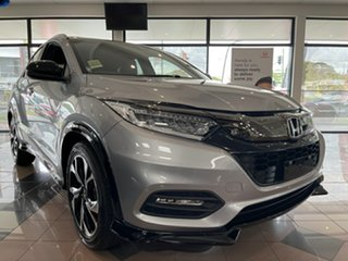 2021 Honda HR-V MY21 RS Lunar Silver 1 Speed Constant Variable Hatchback.