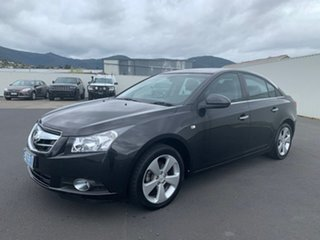 2009 Holden Cruze JG CDX Black 6 Speed Sports Automatic Sedan
