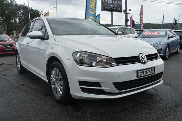 Used Volkswagen Golf VII MY15 90TSI Gosford, 2014 Volkswagen Golf VII MY15 90TSI White 6 Speed Manual Hatchback