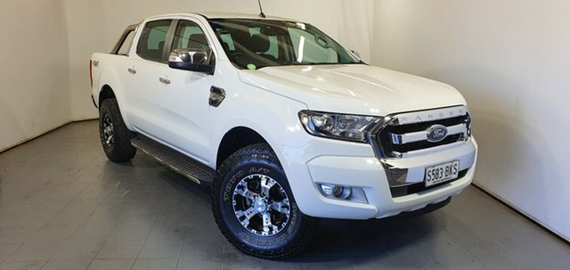 Used Ford Ranger PX MkII XLT Double Cab Elizabeth, 2016 Ford Ranger PX MkII XLT Double Cab White 6 Speed Sports Automatic Utility