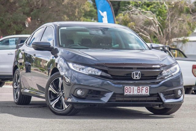 Used Honda Civic 10th Gen MY17 RS Gympie, 2017 Honda Civic 10th Gen MY17 RS Blue 1 Speed Constant Variable Hatchback