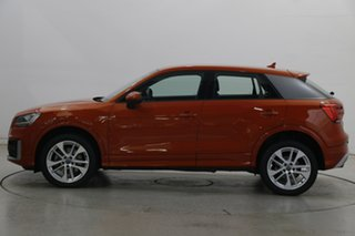 2018 Audi Q2 GA MY18 Sport S Tronic Quattro Coral Orange 7 Speed Sports Automatic Dual Clutch Wagon.
