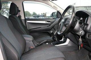 2016 Isuzu D-MAX MY15 LS-U Crew Cab Silver 5 Speed Manual Utility
