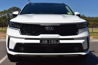 2020 Kia Sorento MQ4 MY21 GT-Line AWD Clear White 8 Speed Sports Automatic Dual Clutch Wagon