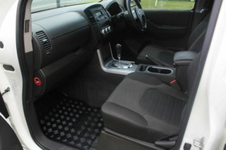 2014 Nissan Navara D40 S6 MY12 ST 4x2 White 5 Speed Automatic Utility