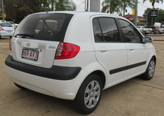 2007 Hyundai Getz White 5 Speed Manual Hatchback.