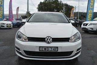 2014 Volkswagen Golf VII MY15 90TSI White 6 Speed Manual Hatchback