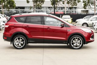 2016 Ford Kuga TF MY16.5 Titanium PwrShift AWD Red 6 Speed Sports Automatic Dual Clutch Wagon