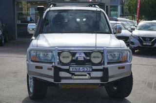 2005 Mitsubishi Pajero NP MY05 Platinum Edition Silver 5 Speed Sports Automatic Wagon.