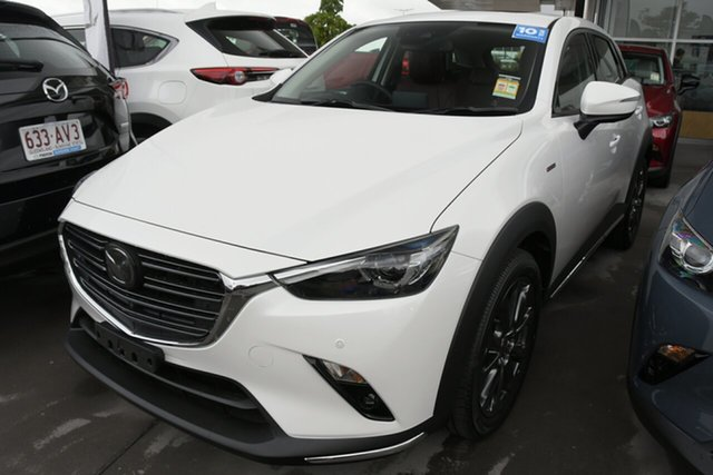 New Mazda CX-3 DK2W7A Wollongong, 2020 Mazda CX-3 DK2W7A Snowflake White Pearl 6 Speed Sports Automatic Wagon