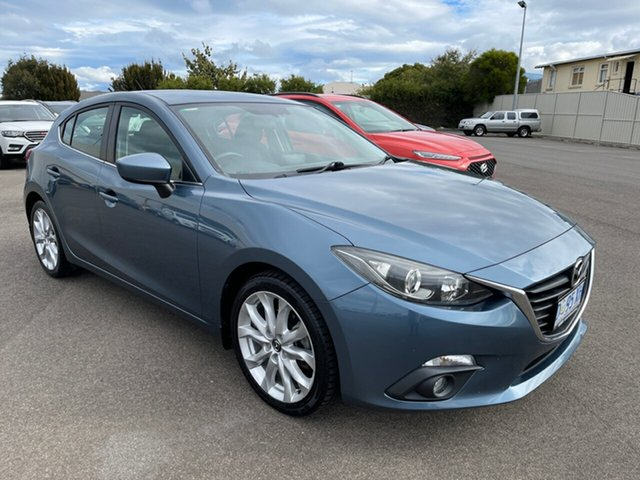 Used Mazda 3 BM5436 SP25 SKYACTIV-MT Devonport, 2014 Mazda 3 BM5436 SP25 SKYACTIV-MT Grey 6 Speed Manual Hatchback