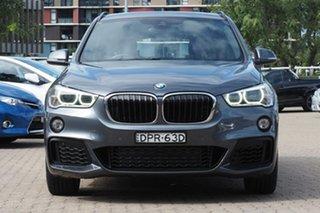 2016 BMW X1 F48 xDrive25i Steptronic AWD Grey 8 Speed Sports Automatic Wagon