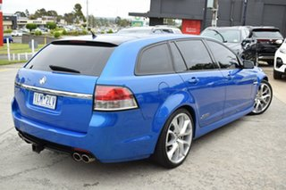 2010 Holden Commodore VE II SS V Sportwagon Blue 6 Speed Sports Automatic Wagon