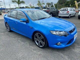 2010 Ford Falcon FG XR6 Turbo 50th Anniversary Blue 6 Speed Manual Sedan.