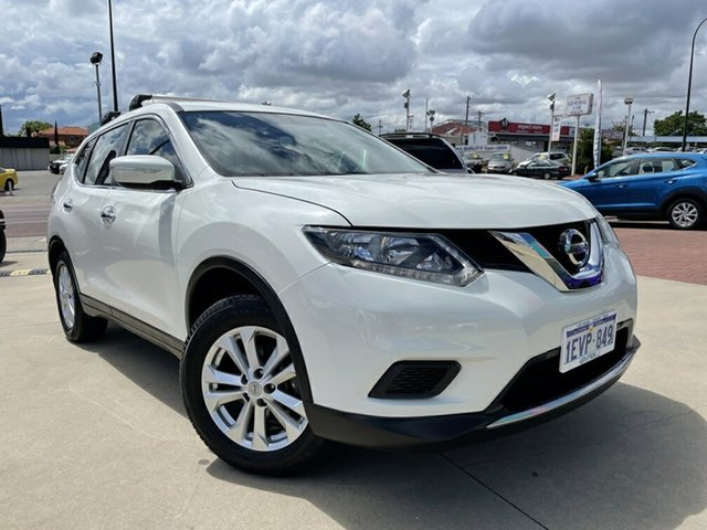 Used Nissan X-Trail T32 ST (4x4) Victoria Park, 2015 Nissan X-Trail T32 ST (4x4) White Continuous Variable Wagon