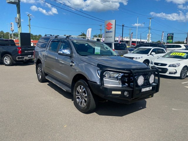 Used Ford Ranger PX MkII XLT Double Cab Cardiff, 2016 Ford Ranger PX MkII XLT Double Cab Silver 6 Speed Sports Automatic Utility