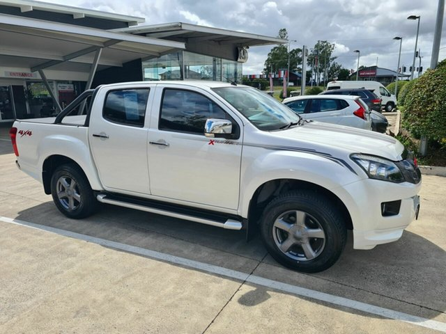 Used Isuzu D-MAX MY14 X-Runner Crew Cab Yamanto, 2014 Isuzu D-MAX MY14 X-Runner Crew Cab White 5 Speed Sports Automatic Utility