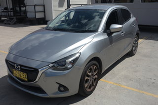 2015 Mazda 2 DJ2HA6 Genki SKYACTIV-MT Grey 6 Speed Manual Hatchback.