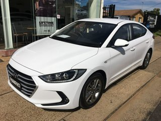 2017 Hyundai Elantra AD Active White Sports Automatic.
