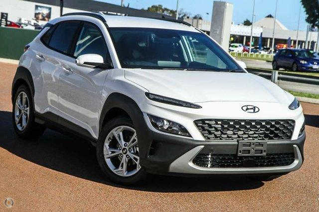 New Hyundai Kona Os.v4 MY21 Active 2WD Nailsworth, 2021 Hyundai Kona Os.v4 MY21 Active 2WD Atlas White 8 Speed Constant Variable Wagon