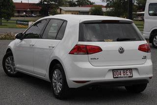2014 Volkswagen Golf VII MY14 90TSI DSG White 7 Speed Sports Automatic Dual Clutch Hatchback.