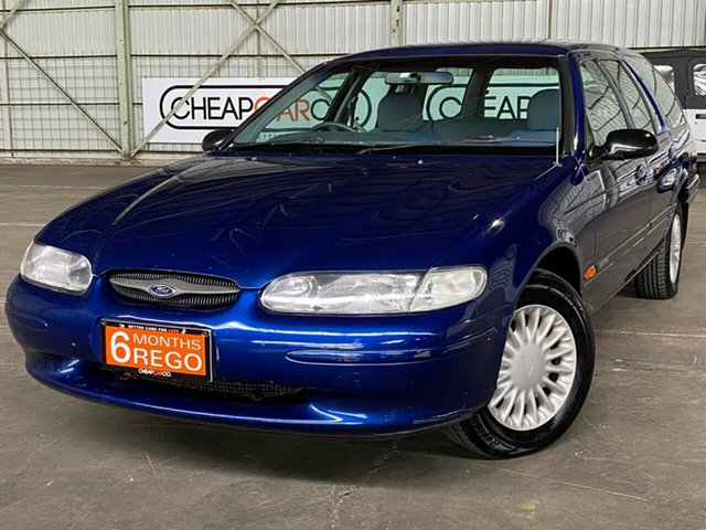 Used Ford Falcon EL GLi Rocklea, 1998 Ford Falcon EL GLi Blue 4 Speed Automatic Wagon