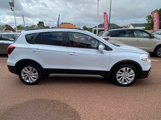 2020 Suzuki S-Cross JY Turbo Cool White 6 Speed Sports Automatic Hatchback
