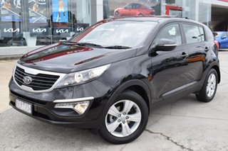 2011 Kia Sportage SL SI Black 6 Speed Sports Automatic Wagon.