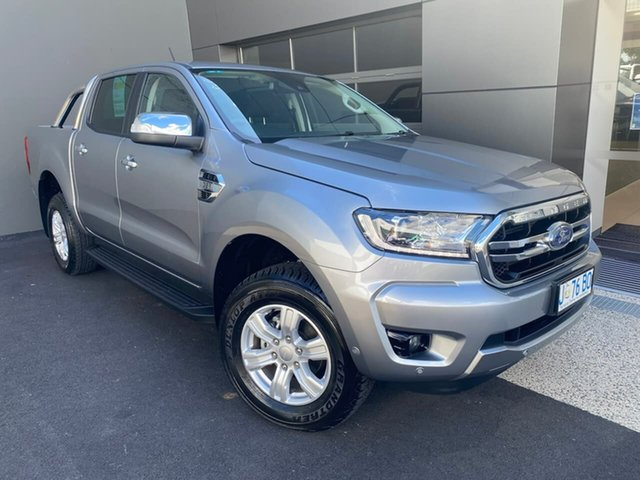 Used Ford Ranger PX MkIII 2020.25MY XLT Hobart, 2020 Ford Ranger PX MkIII 2020.25MY XLT Silver 6 Speed Sports Automatic Double Cab Pick Up