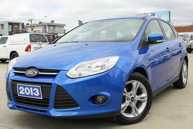 Used Ford Focus LW MkII Trend PwrShift Coburg North, 2013 Ford Focus LW MkII Trend PwrShift Blue 6 Speed Sports Automatic Dual Clutch Hatchback