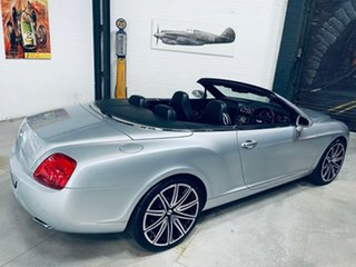 2007 Bentley Continental 3W GTC Silver 6 Speed Sports Automatic Convertible
