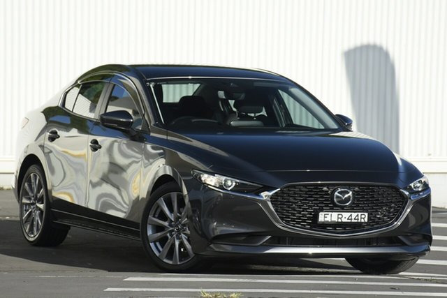 Used Mazda 3 BP2S7A G20 SKYACTIV-Drive Evolve Wollongong, 2020 Mazda 3 BP2S7A G20 SKYACTIV-Drive Evolve Machine Grey 6 Speed Sports Automatic Sedan
