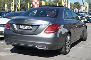 2017 Mercedes-Benz C-Class W205 807+057MY C200 9G-Tronic Grey 9 Speed Sports Automatic Sedan