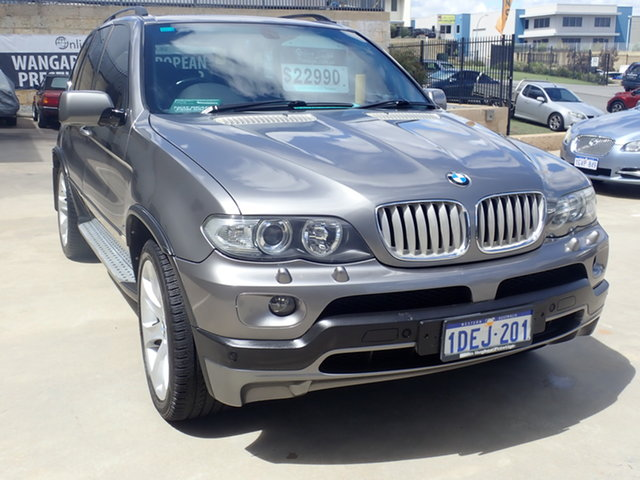 Used BMW X5 E53 4.8IS Wangara, 2004 BMW X5 E53 4.8IS Gun Metal 6 Speed Auto Steptronic Wagon